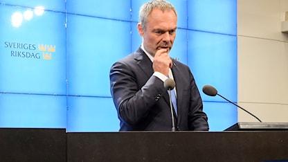 Jan Björklund, hoggaamiyaha xisbiga Liberalerna.