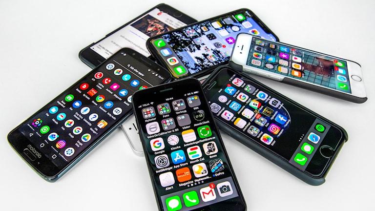 Telefoon mobiil ah.
