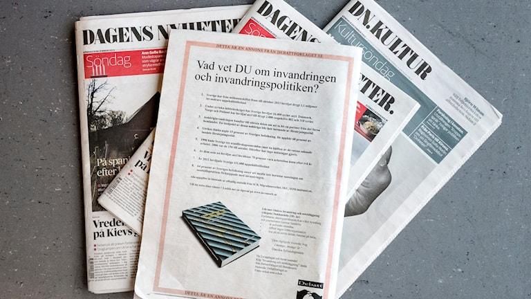 DN tidningar