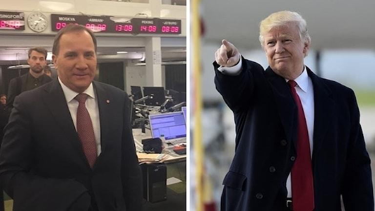 slÖfven och Trump