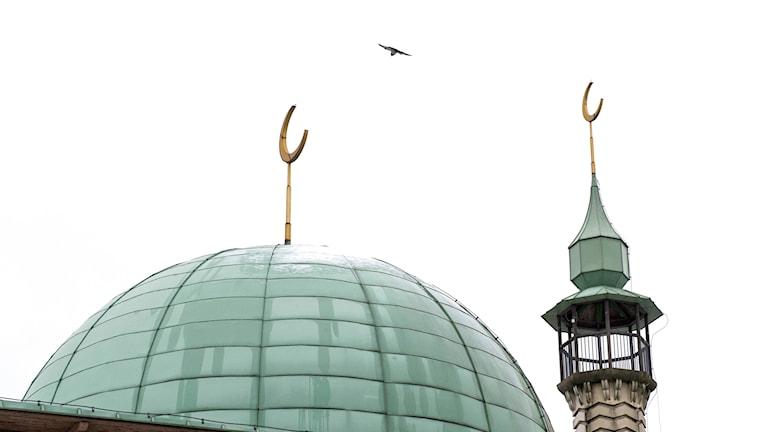 Munaaradda masjidka magaalada Uppsala.