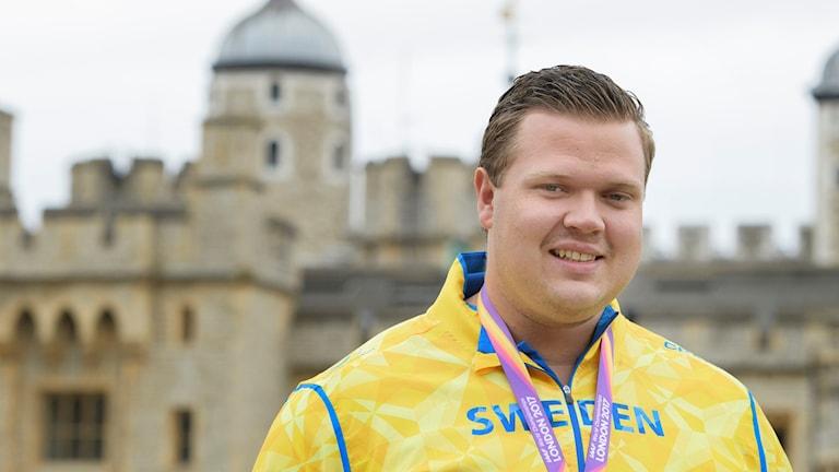 Diskuskastaren Daniel Ståhl kom tvåa på VM. Foto: Jessica Gow/TT