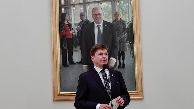 Andreas Norlén (M), af hayeenka cusub ee baarlamanka Sweden.