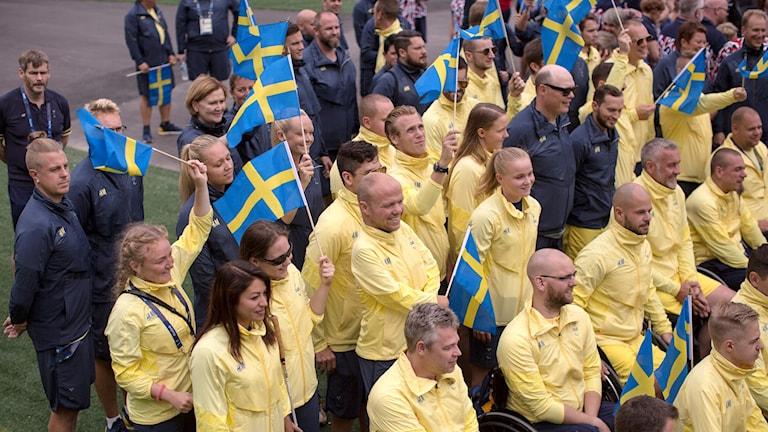 Ciyaartooyda Sweden uga qayb-galeeysa tartanka  Paralympic ee dalka Baraasiil.