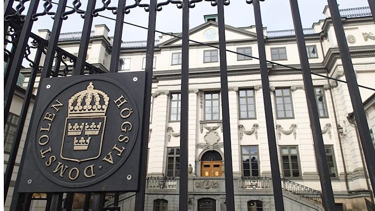 Sal-dhigga maxkamadda sare Sweden.