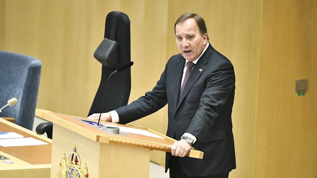 Ra´iisal wasaare Stefan Löfven.
