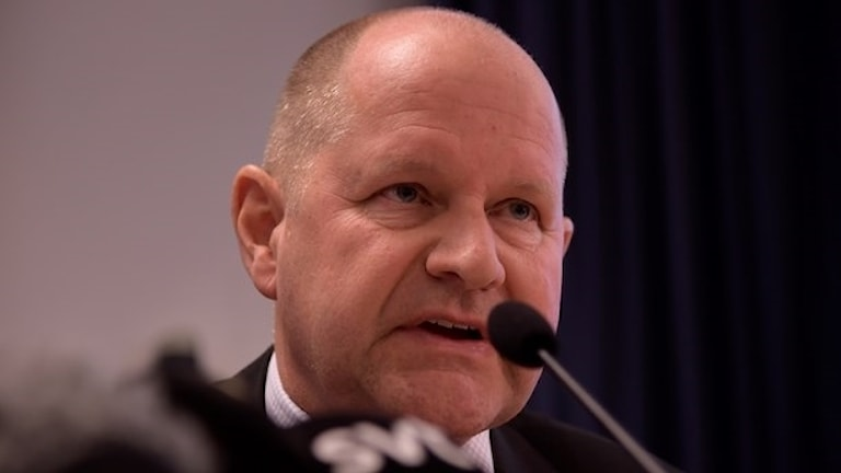 Dan Eliasson polischef.