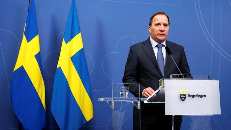 Stefan Löfven, madaxa dawladda Sweden.