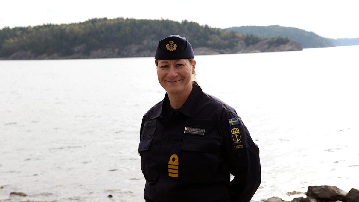 Ewa Skoog Haslum blir ny marinchef från den 1 februari.