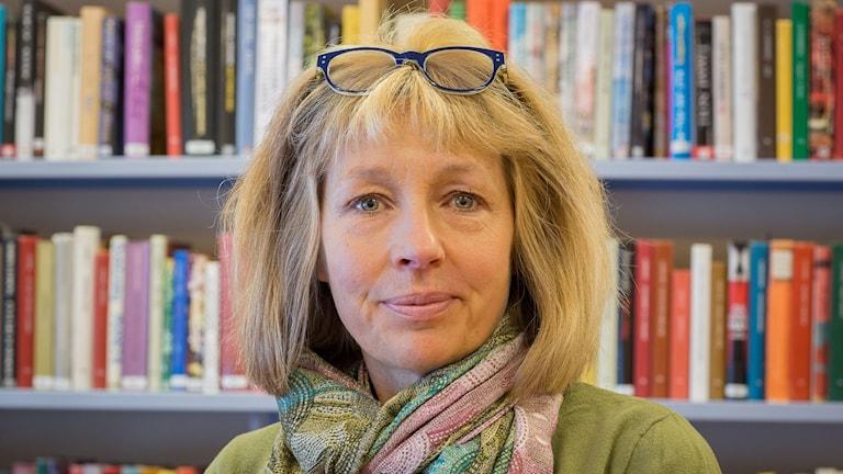 Lena Lovén Rolén siyaasi ka howl-gasha Skinnskatteberg.