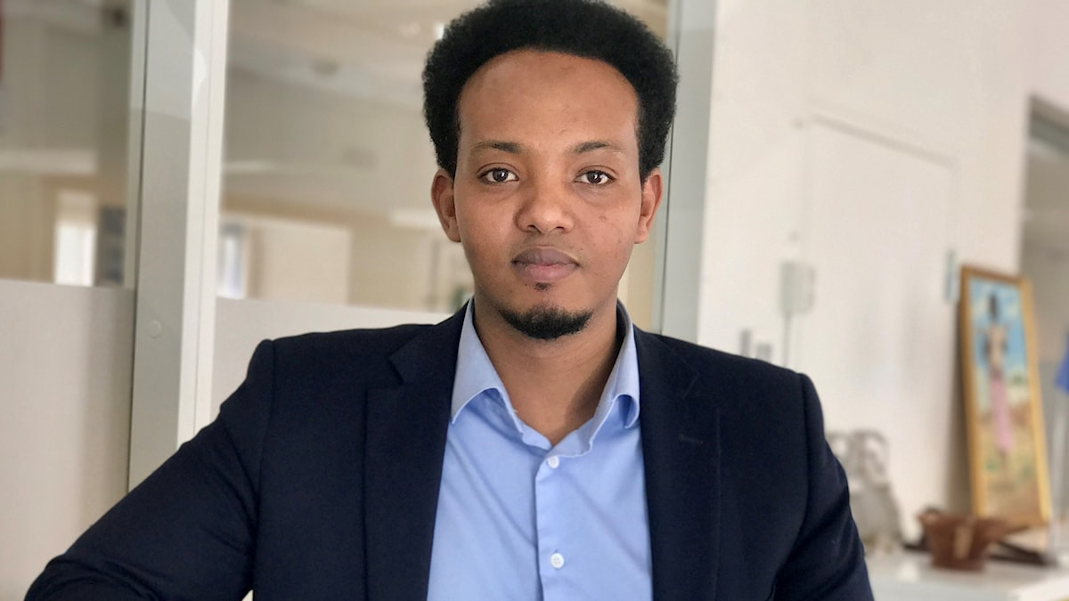 Habane Hassan gudoomiyaha ururka isbaaheeysiga ummada somaaliyeed ee Iswiidhan.