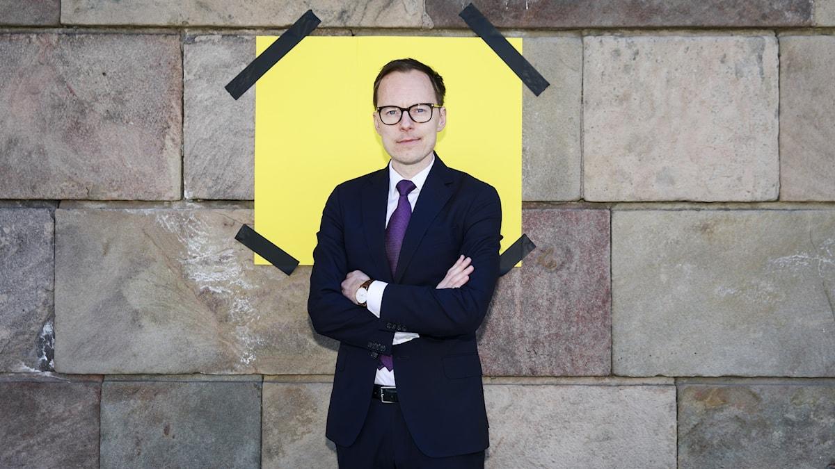 Mats Persson, waa siyaasiga xisbiga Libaraalka. Sawir:
