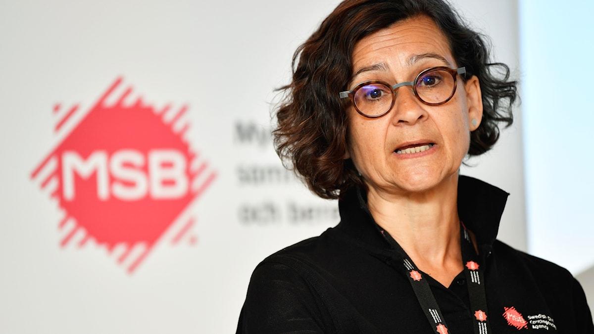 Anneli Bergholm Söder oo ka howlgasha hayadda MSB.