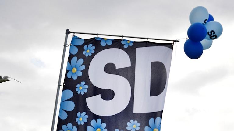 Sumadda xisbiga Sverigedmokraterna.