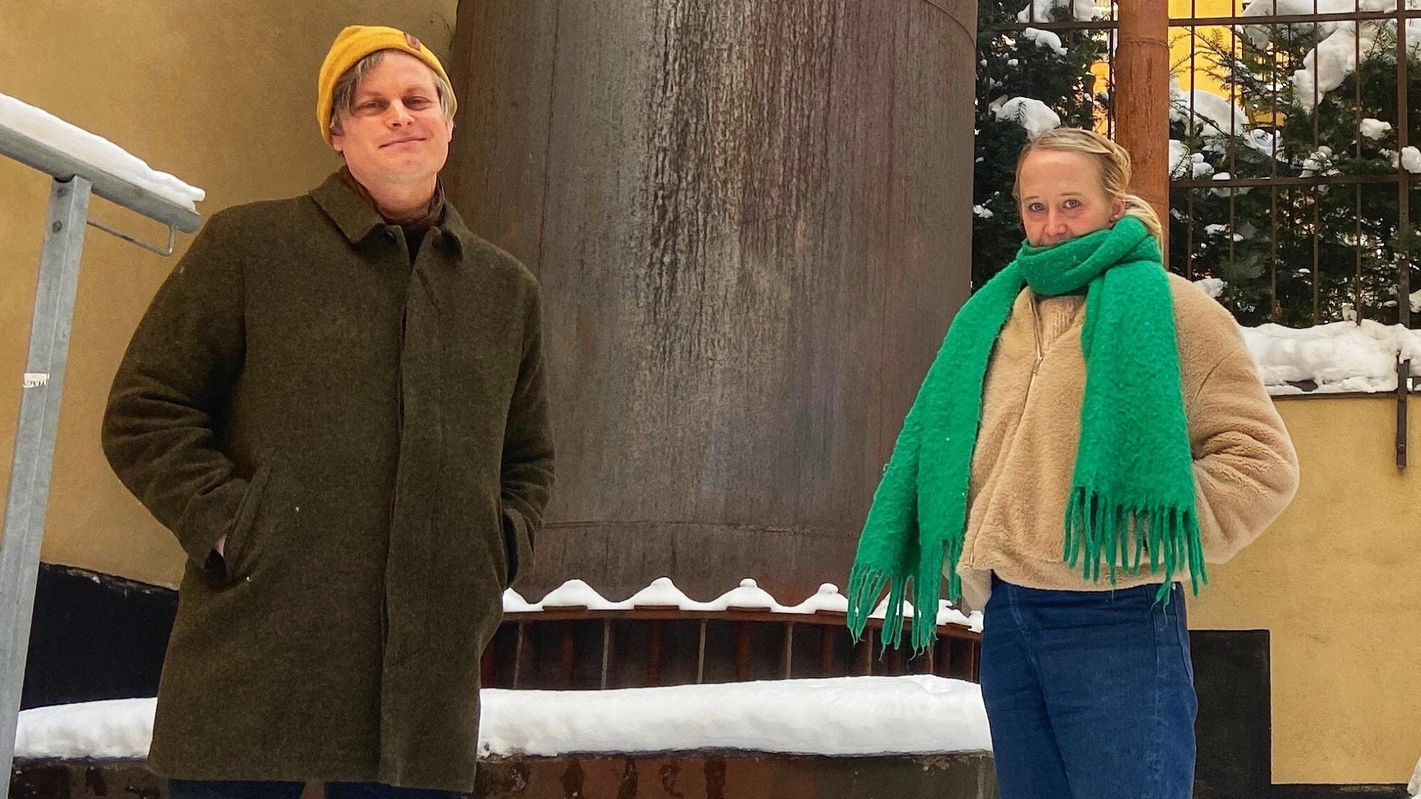 Martin Hederos och Anna Storåkers Foto Helene Almqvist