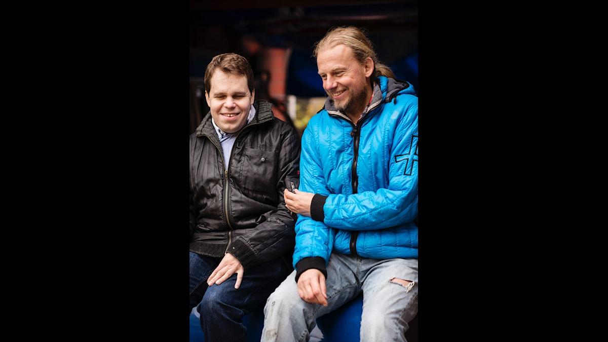 Mats Öberg och Morgan Ågren. Bild: Elliot Elliot