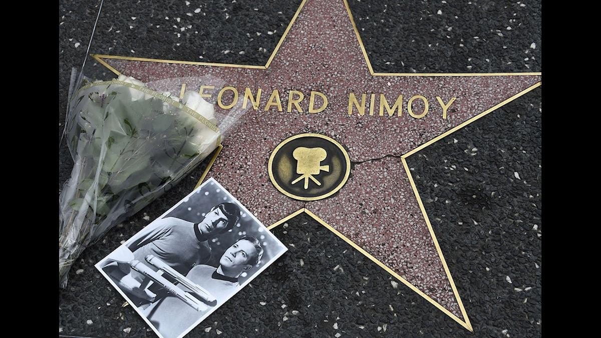Leonard Nimroy alias Mr Spock   foto ROBYN BECK Scanpix/TT