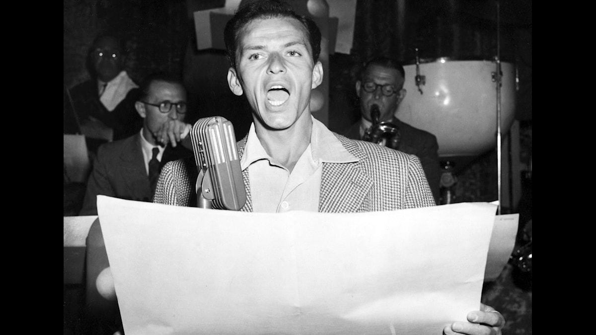 Frank Sinatra  foto: SVT bild