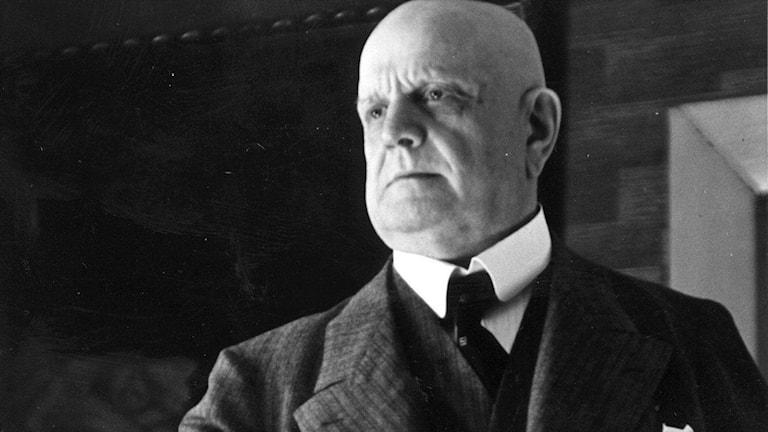 Jean Sibelius. Foto Okänd
