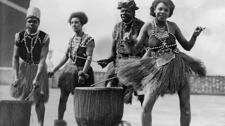 Afrikanska rytmer Foto: SVT Bild
