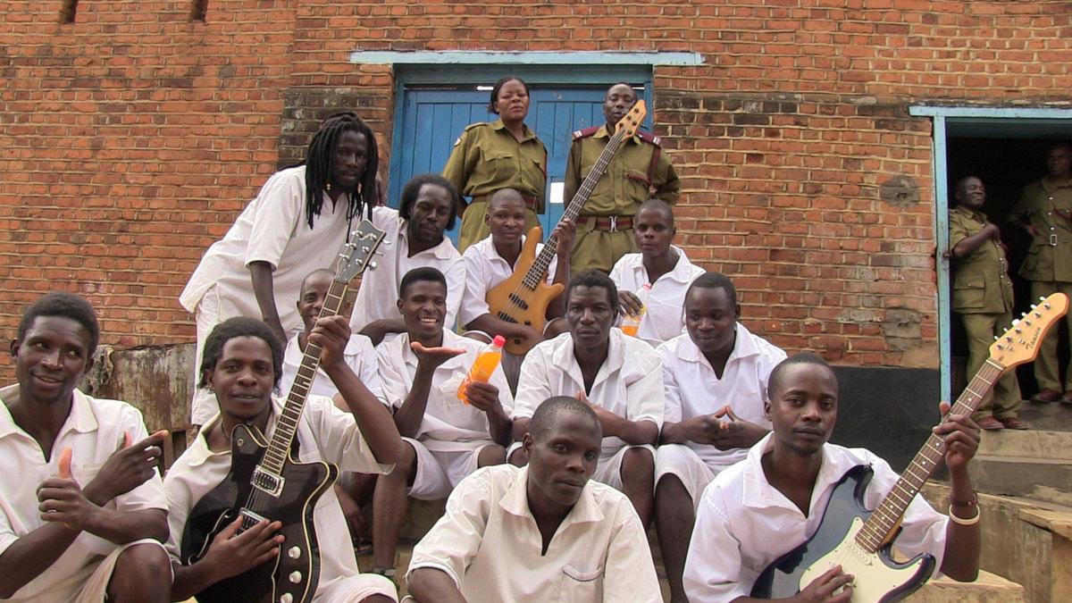 Musikaliska fångar Zomba Prison Project Pressfoto