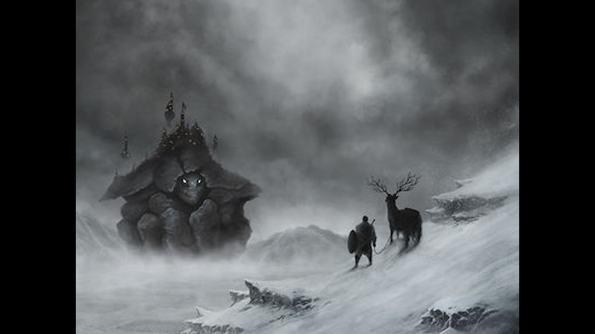 Skivomslag, Return To Ommadawn  - beskuret