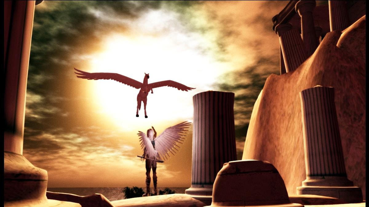 Athena & Pegasus