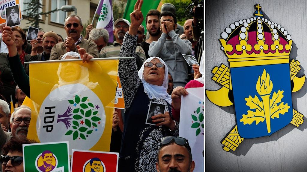 Swêd, HDP, kurd, Säpo, îstixbarat, PKK.