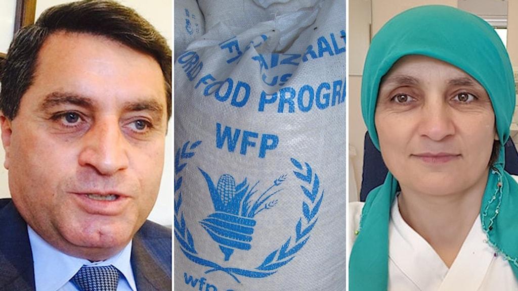 Nemam Ghafouri, Abdulkerim Omar, World Food Programme, Nobel,