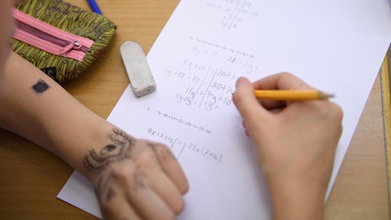 Şagirdên swêdî di matematîkê de baştir bûne