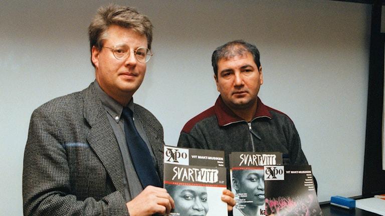Stieg Larsson och Kurdo Baksi
