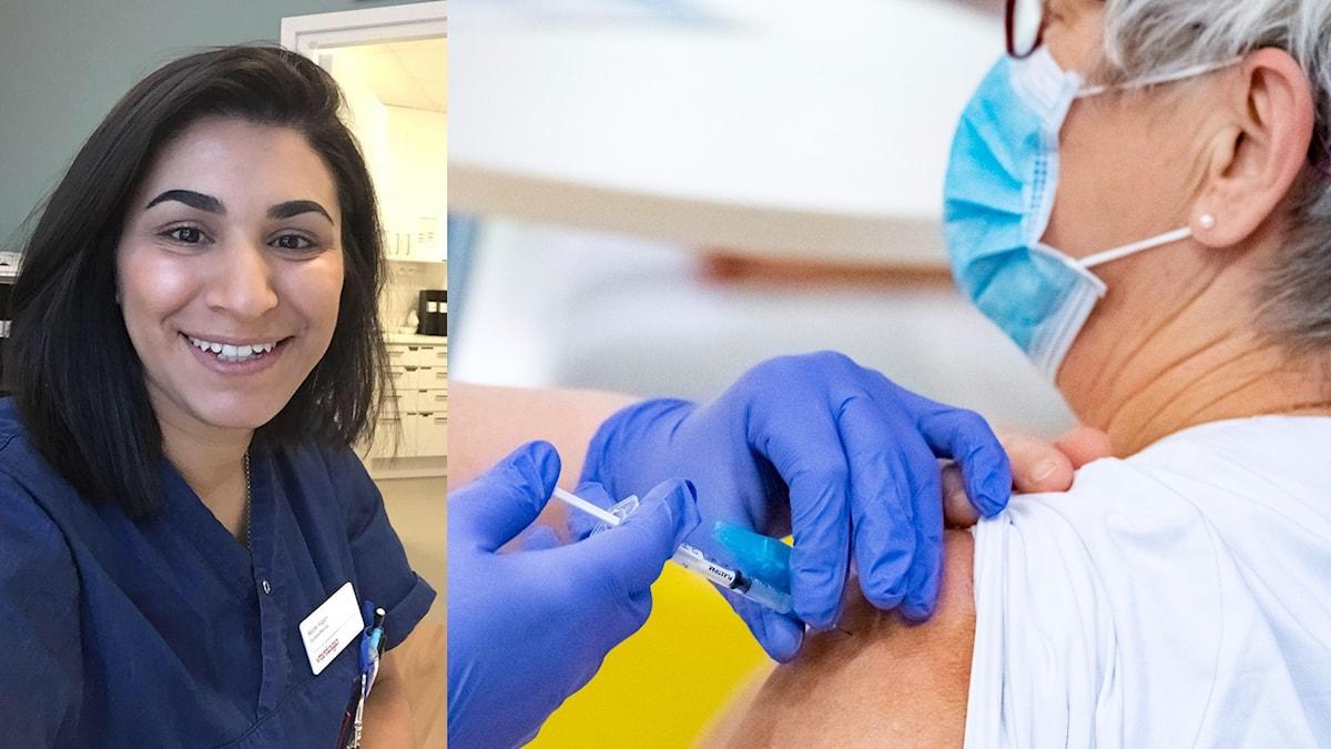 vaccin, sjuksköterska