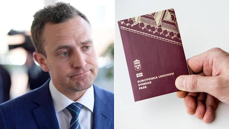 Tomas Tobé, svenskt pass