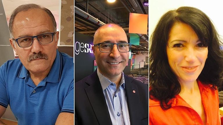 Arslan Bicen, Serkan Köse, Amineh Kakabaveh