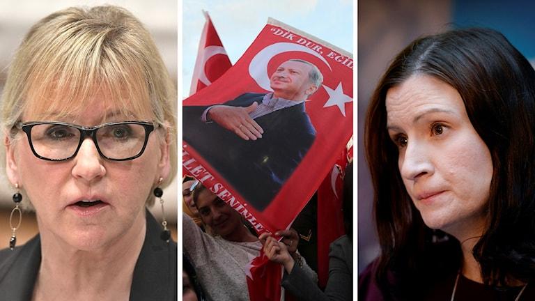 Margot Wallström, Birgitta Ohlsson, Erdogan-supporter