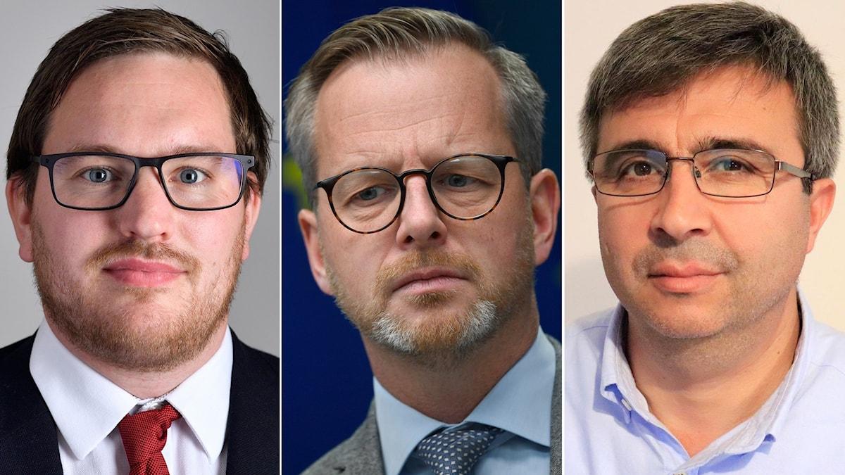 Håkan Svenneling, Mikael Damberg, Ridvan Altun, NCDK, kurd, Swêd, Palme, doz.