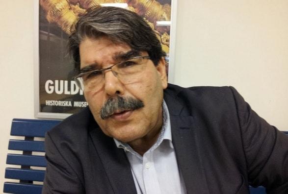 PYD ledaren Salih Muslim. Foto: Besir Kavak, Sveriges Radio