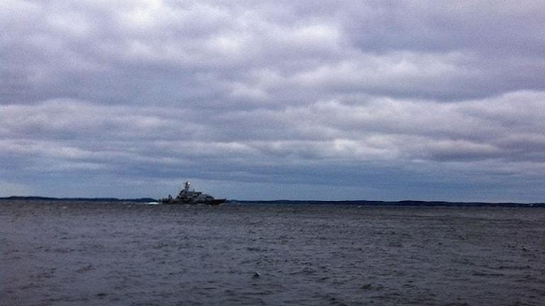 Sukellusvenejahdin olivat pitkään arkisia, kunnes kuukauden takainen jahti herätti kylmän sodan kaltaista huomiota. Foto/Kuva: My Rohwedder/Sveriges Radio