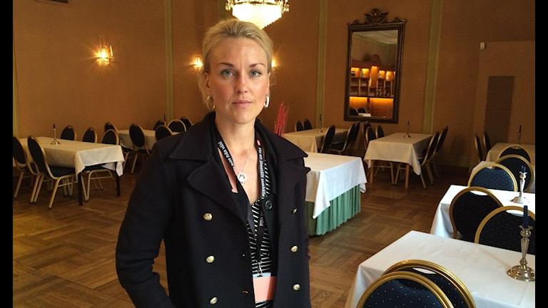 Olga Persson, ordförande för Unizon Foto: Hewa Abdelzadeh/Sveriges radio