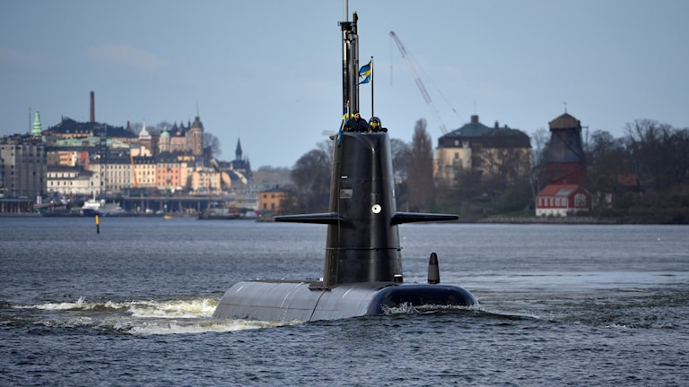 ubåt. foto: Henrik Montgomery/TT.