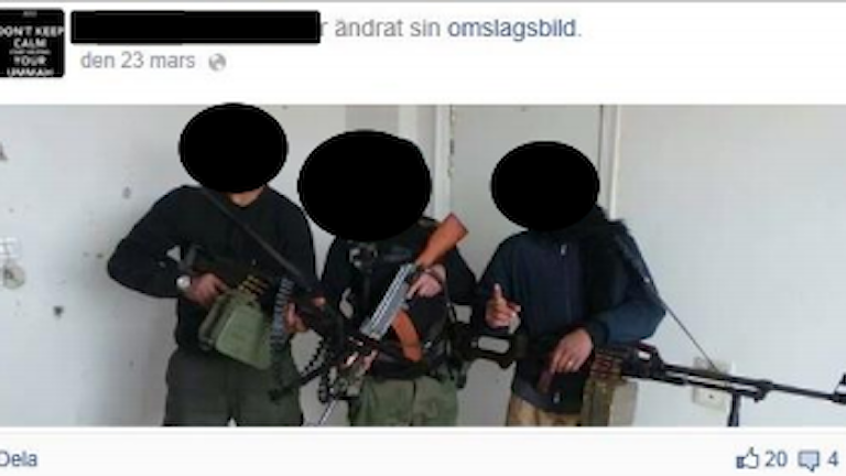 Dschihadisten Facebook