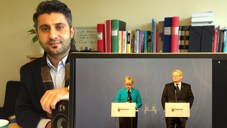 شاهۆ موانی لەسەر کۆنفرانسی دووقۆڵەی وەزیرانی دەرەوە و بەرگریی سوید دەدوێ