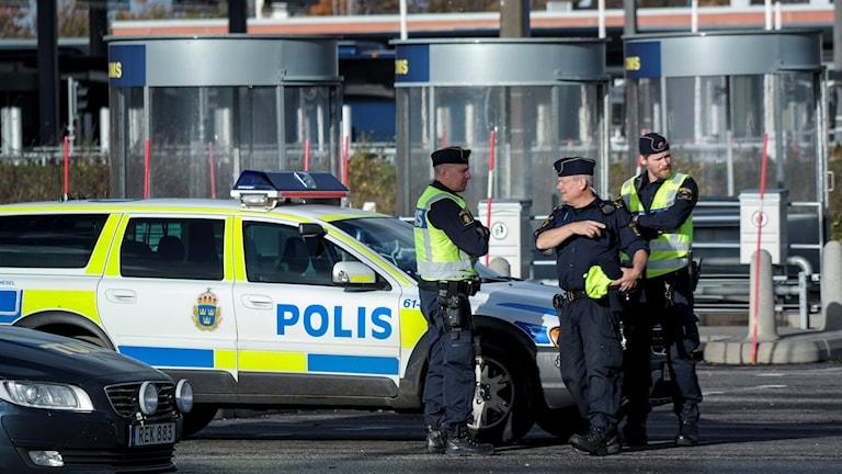 Poliiseja: Erland Vinberg/TT