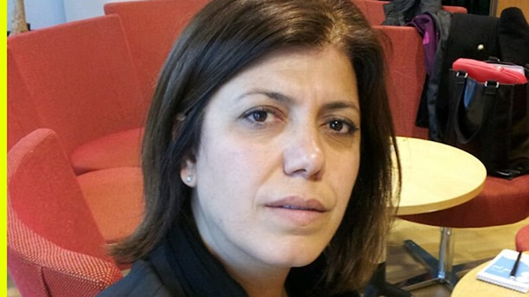 Meral Danis Bestas, HDP parlamentariker. Foto: Besir Kavak, Sveriges Radio
