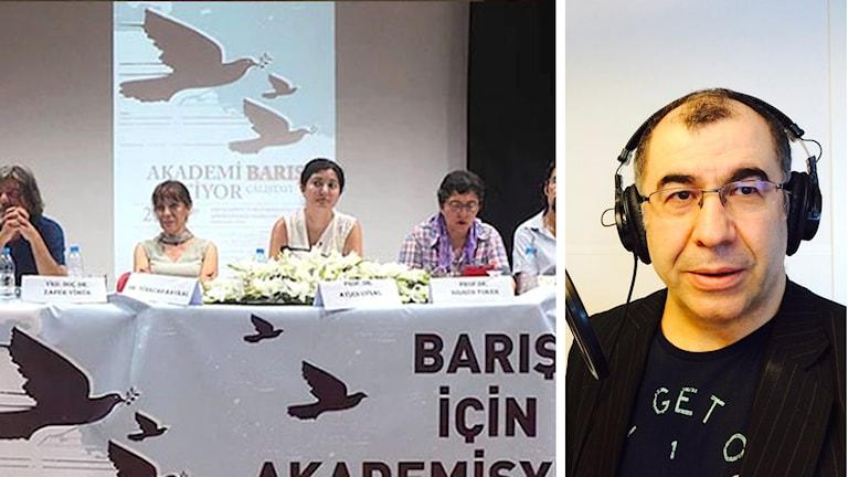 Akademikernas möte om fred i Turkiet och Osman Aytar