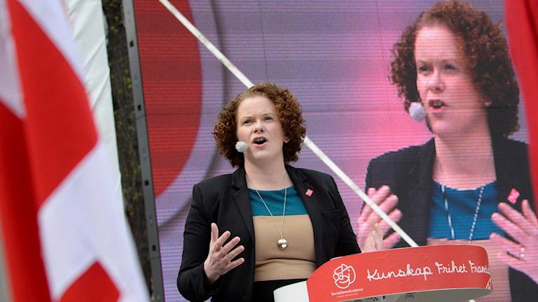 Karin Wanngård a sosyaldemokrat heyvê 125 000 kronî distîne.Wêne: Jonas Ekströmer / TT