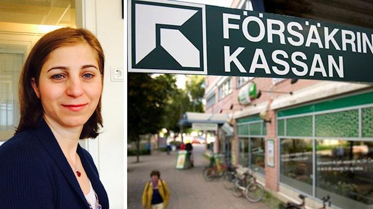 Roza Kaplan, di warê lênerînê de kar dike. Wêne: Radyoya Swêdê/JESSICA GOW / TT