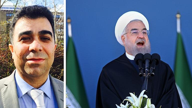 Fred Mouradi och Irans ledare
