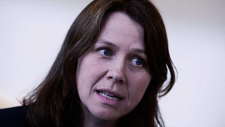 Hevseroka Partiya Jîngehê (Miljöpartiet) Åsa Romson.