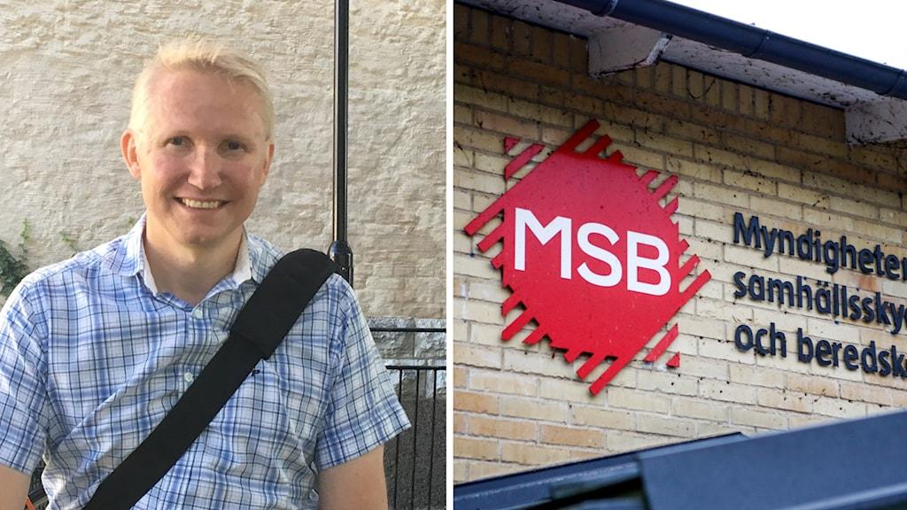 Mikal Tofvesson, enhetschef på MSB.